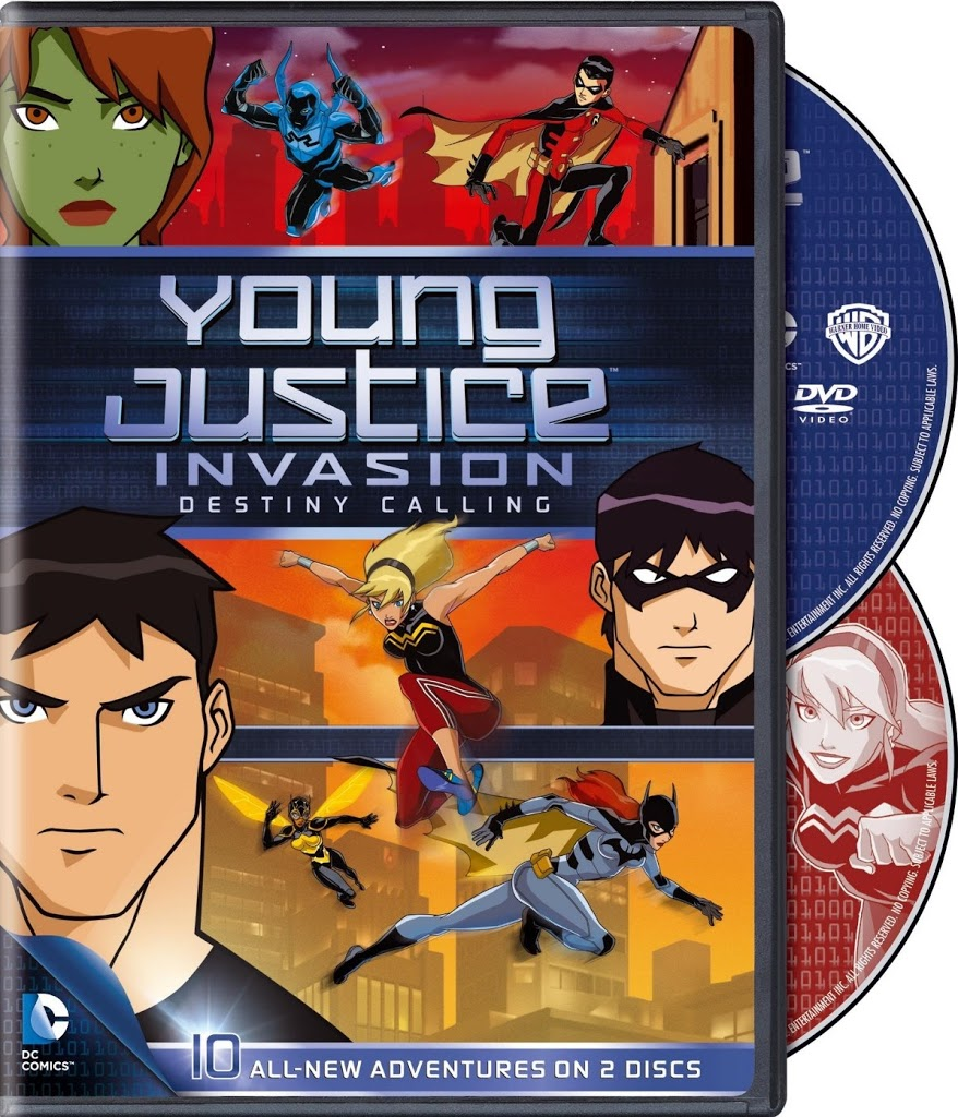 Young Justice - Invasion - Game of Illusions (2-DVD) (2013 ...